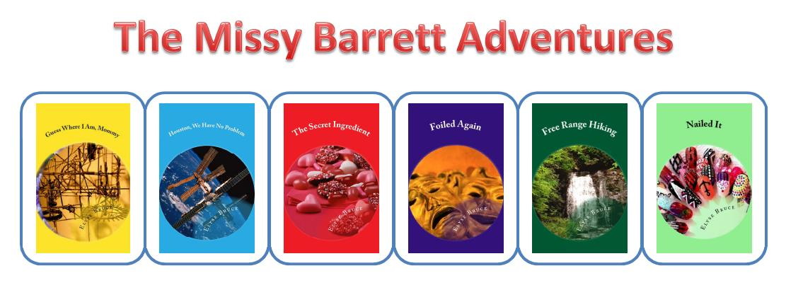 Missy Barrett Adventures Volume 1 through 6